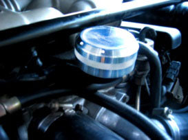 911 Oil Cap - Solid Metal