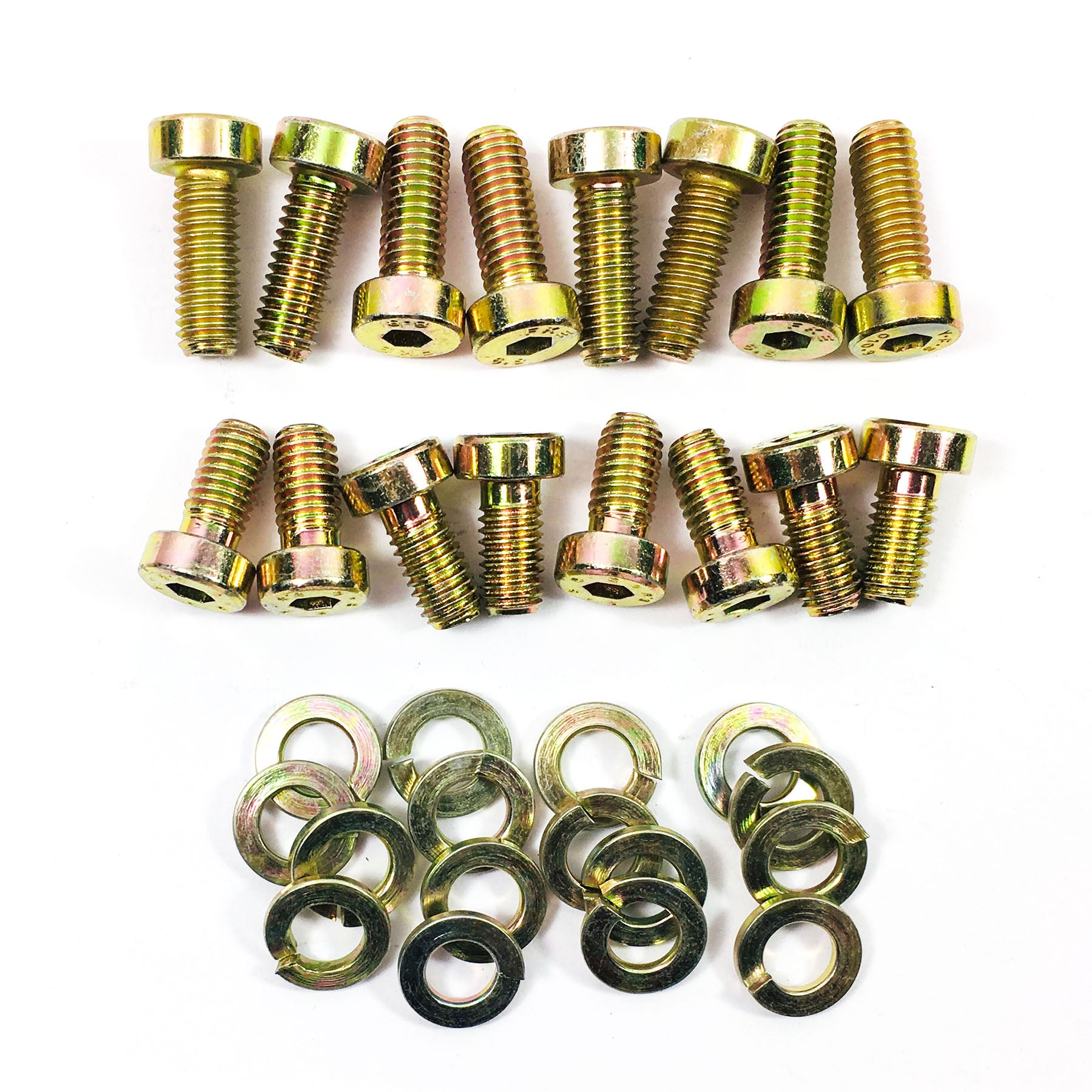 Seat Mounting Bolt Kit (up to 84) - Steel/Yellow Zinc Plated