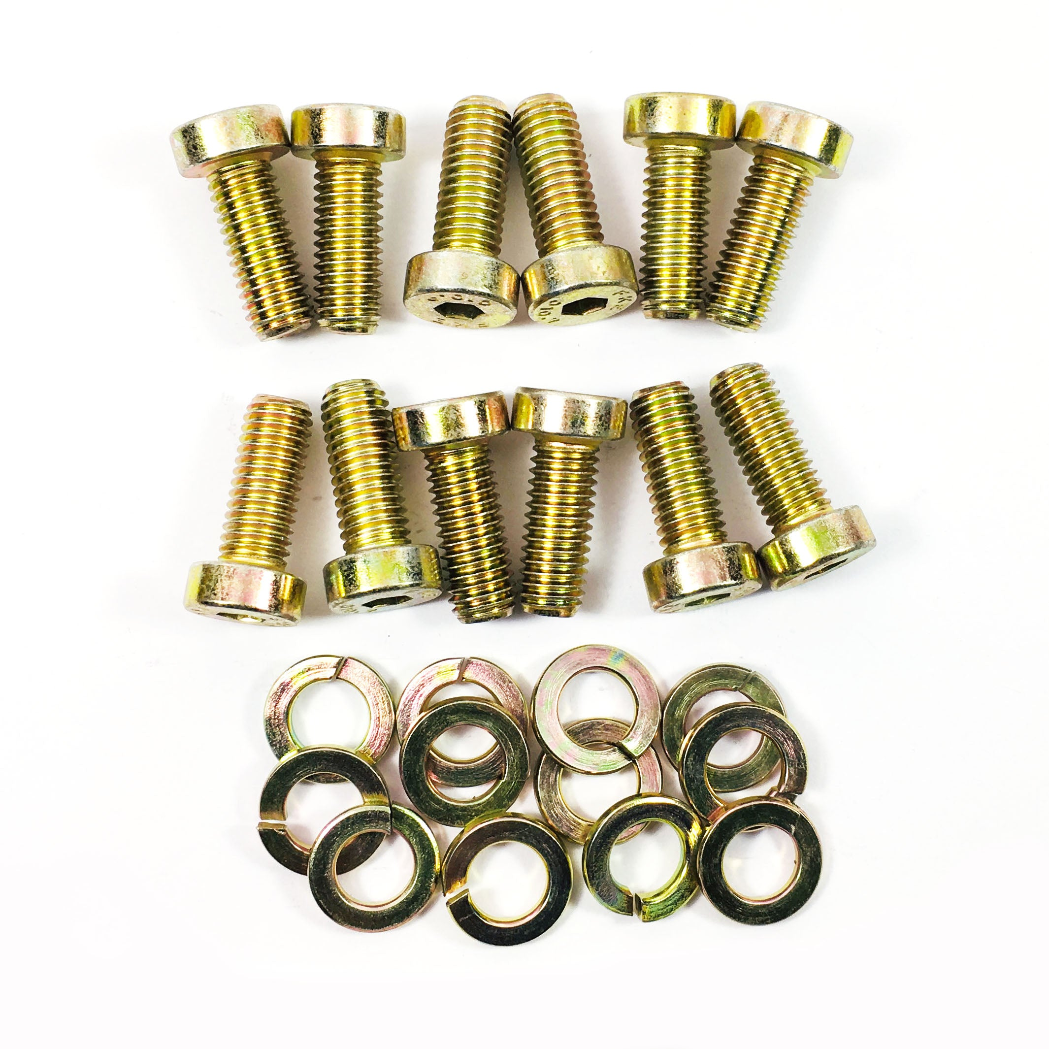 Seat Mounting Bolt Kit (85-95) - Steel/Yellow Zinc Plated