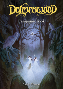 Preview: Dolmenwood Campaign Book Cover!