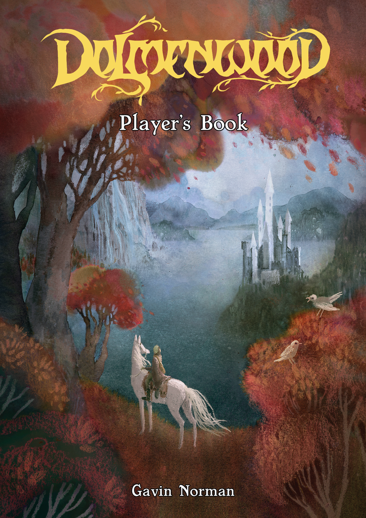 Preview: Dolmenwood Player's Book Cover!