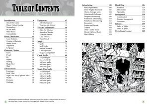 Old-School Essentials Player's Rules Tome [Coming 2020]