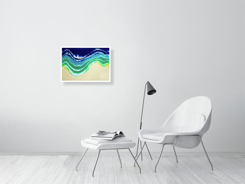 Resin Seascape 1