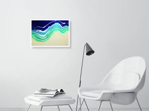 Resin Seascape 4