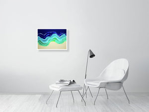 Resin Seascape 2