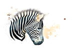 Zebra 1 (original coffee & ink)