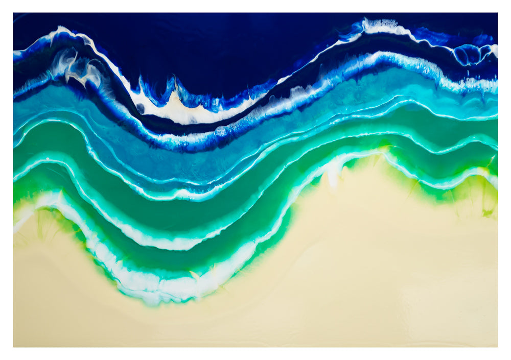 Resin Seascape 1 (original 4x3ft)
