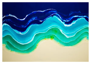 Resin Seascape 2 (original 4x3ft)