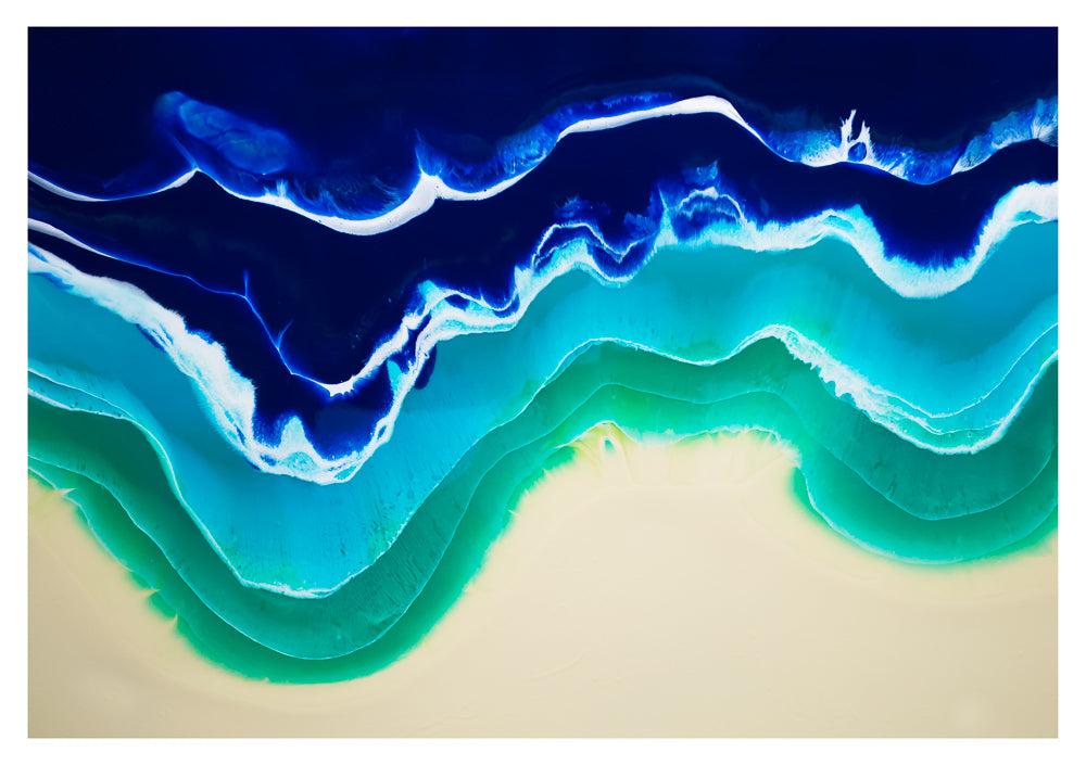Resin Seascape 3 (original 4x3ft)