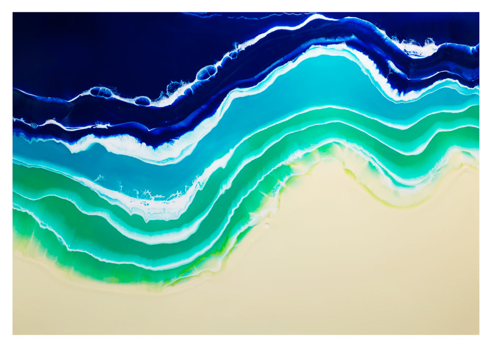 Resin Seascape 4 (original 6x4ft)
