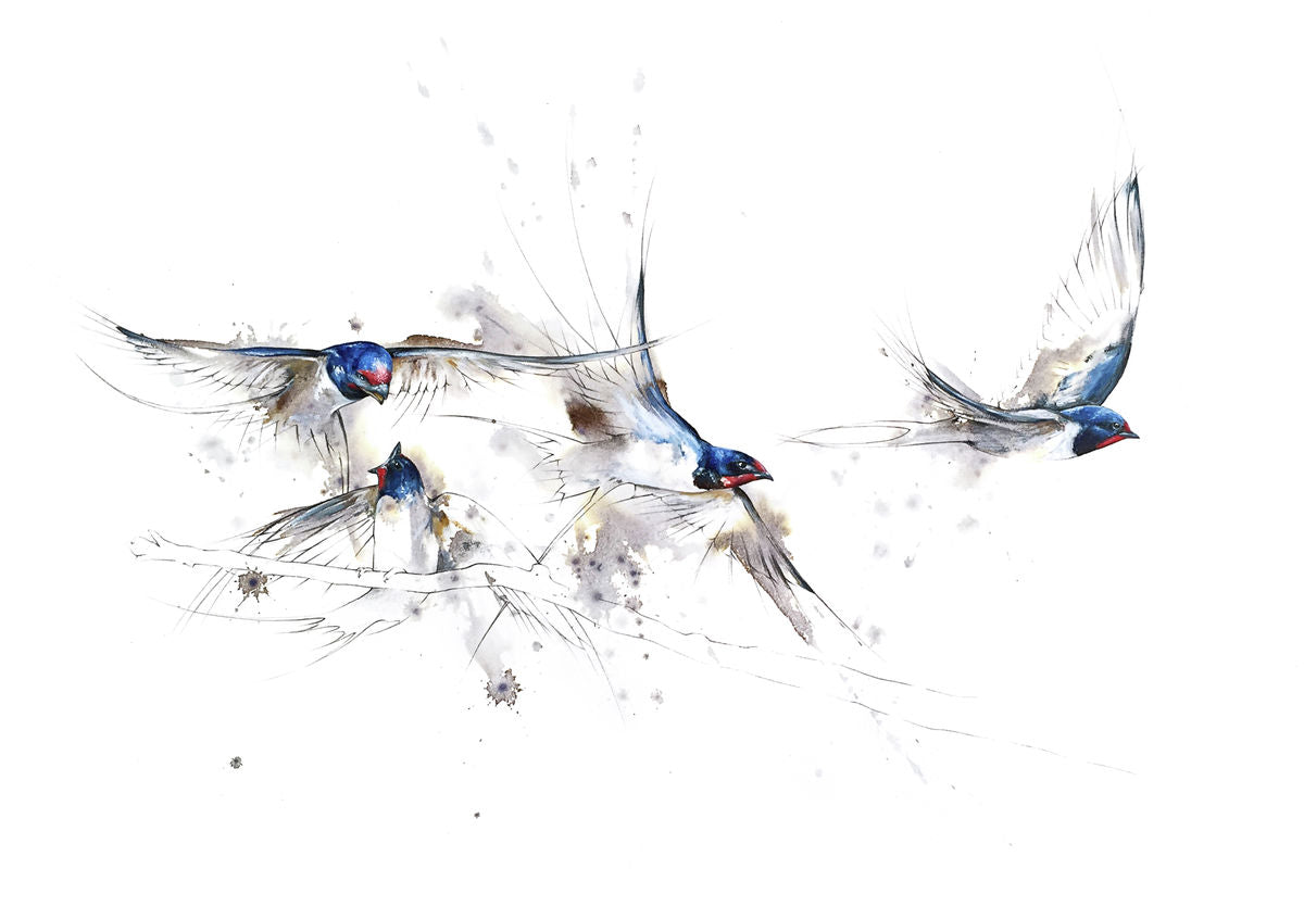 Four Swallows