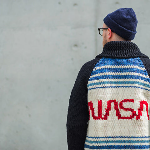 NASA Sweater Back