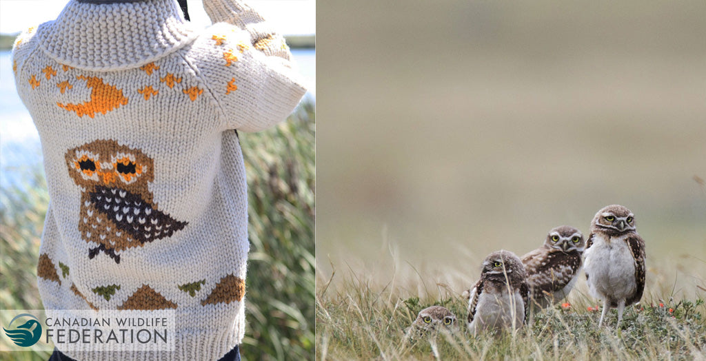 Canadian Wildlife Federation - Owl Sweater
