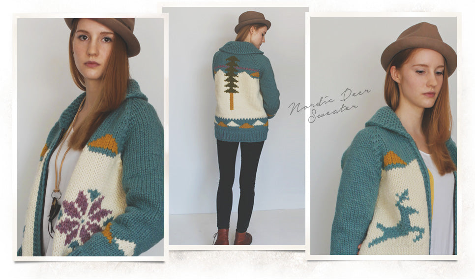 Nordic Deer Sweater
