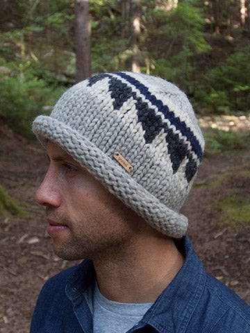 Cypress Toque - Navy/Charcoal