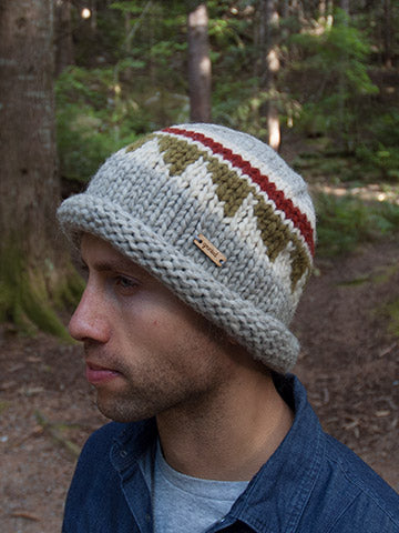 Cypress Toque - Rust/Olive