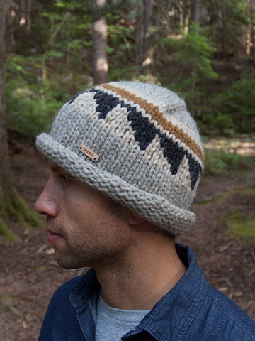 Cypress Toque - Moss/Charcoal