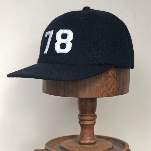 Melton wool cap 78 - Navy