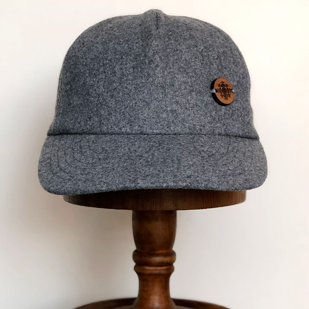 Official CBC melton wool cap - Light grey