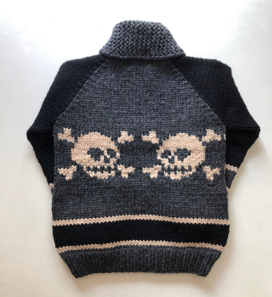 SAMPLE SALE* Stadium Skull - Charcoal