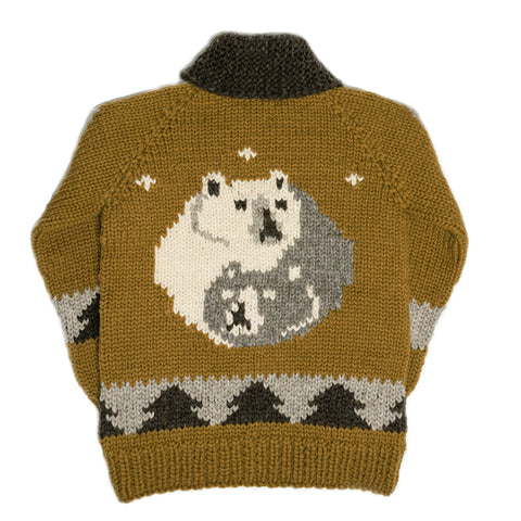 Yin yang spirit bear - Brown