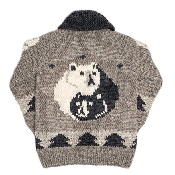 Yin yang spirit bear - Grey