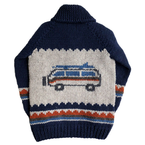 Happy Camper Van - Navy