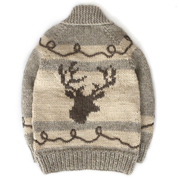 Graphic Deer Head - Light Brown