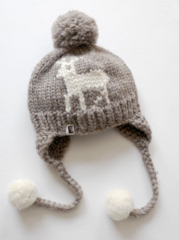 Deer Toque Pom - Natural