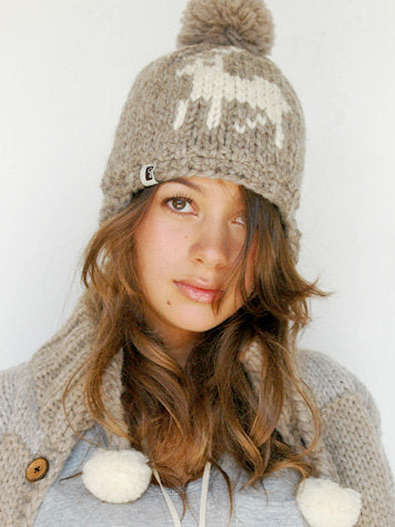 Deer Toque - Grey