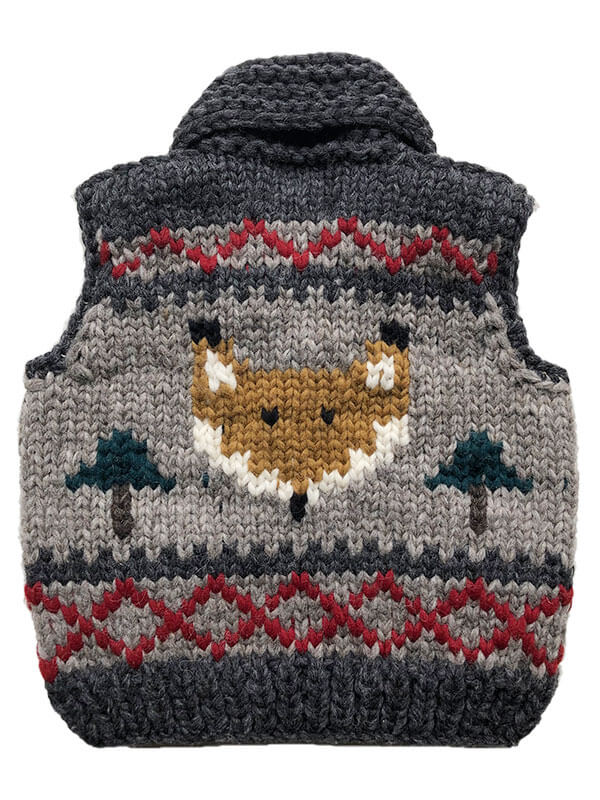 Kids Finley the Fox Vest