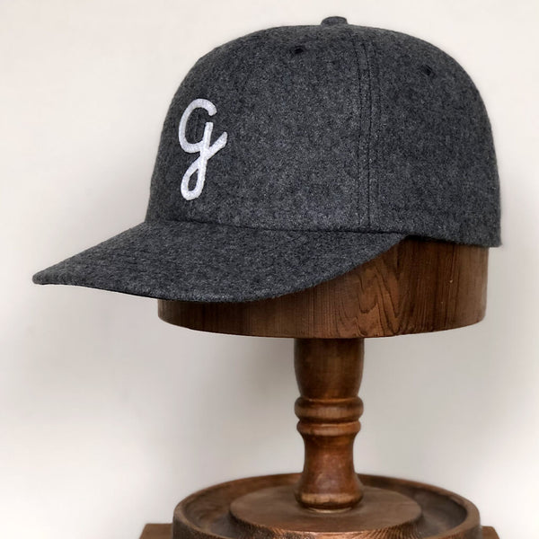 Melton wool cap g - Grey