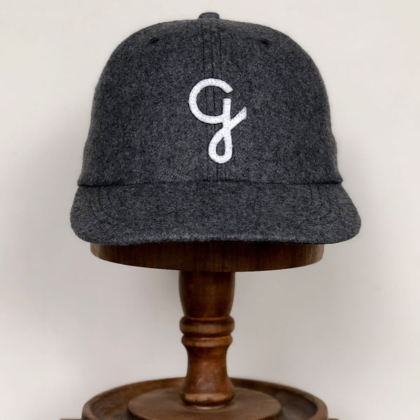G melton wool cap - Grey