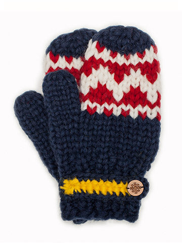 Official CBC Retro mittens - Navy