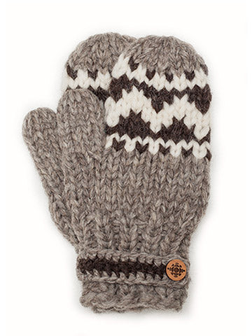 Official CBC Heritage mittens - Natural