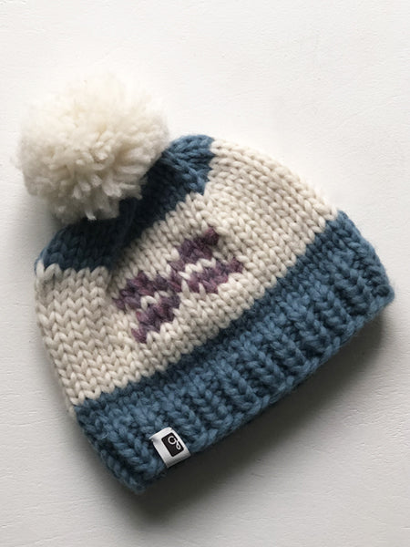 Kids Toque - Blue/Pink