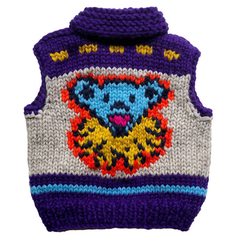 Official Grateful Dead Krazy Bear kids vest