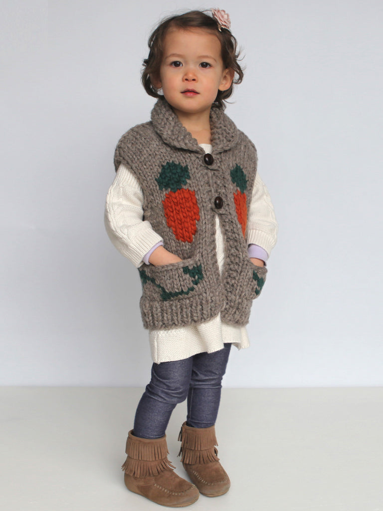 Kids Rabbit Vest