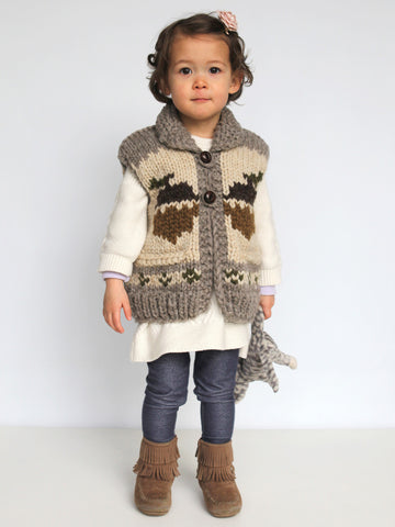 Kids Squirrel Vest