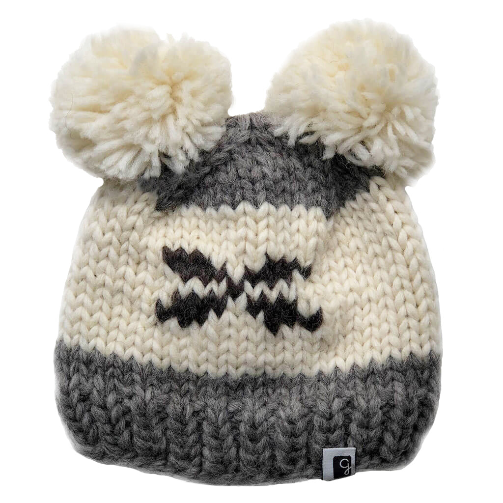 Kids Toque (Double pom pom) - Various colours