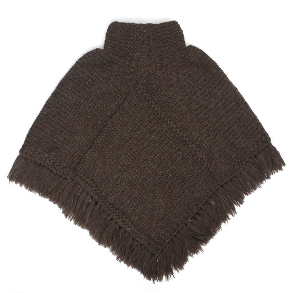 Lush Poncho - Brown
