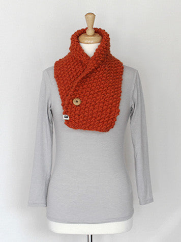 Neck Warmer - Autumn Orange