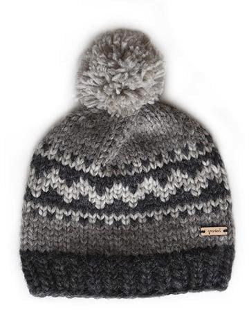 Oak Motif Toque - Grey