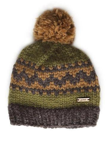 Oak Motif Toque - Earth