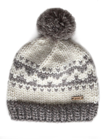 Oak Motif Toque - White