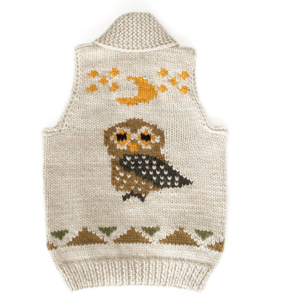 Official Canadian Wildlife - Burrowing Owl Vest