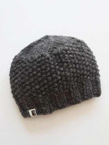 Pebble Toque - Charcoal