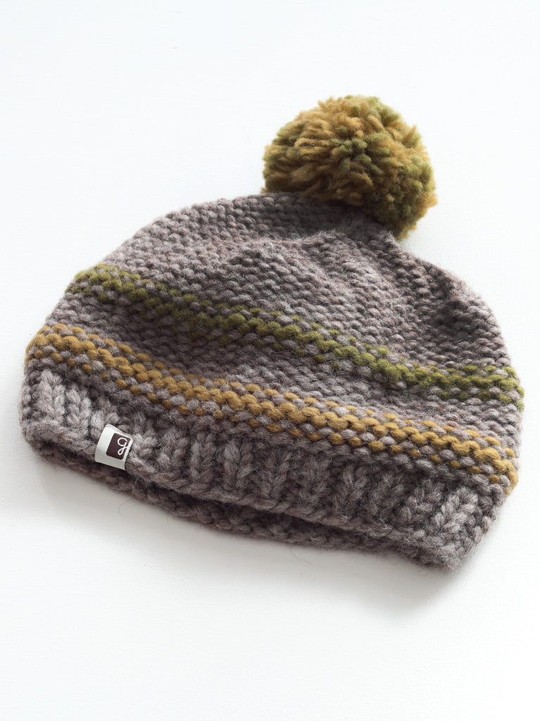 Reverse Knit Toque