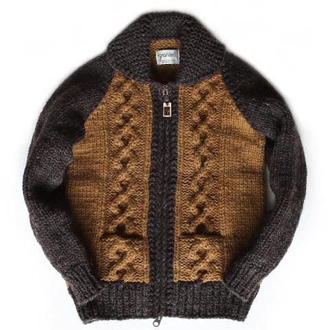 Stadium Cable Knit Zip - Earth