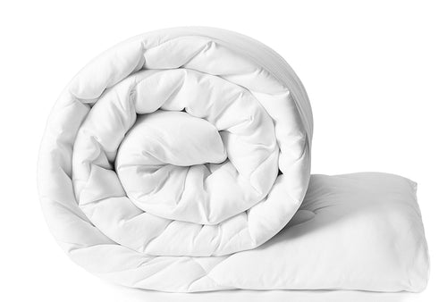 300GSM SINGLE BED WHITE COMFORTER